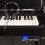 Système silencieux, silent pour piano